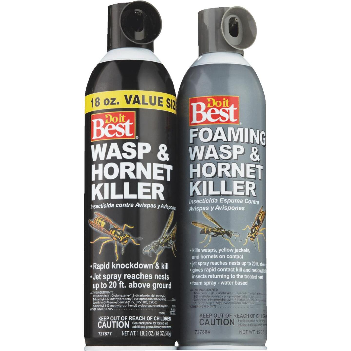 Do it Best 18 Oz. Liquid Aerosol Spray Wasp & Hornet Killer Image 2