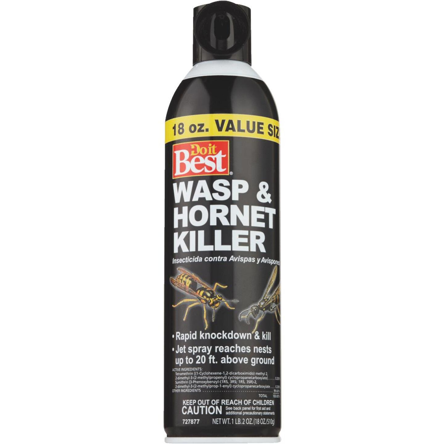 Do it Best 18 Oz. Liquid Aerosol Spray Wasp & Hornet Killer Image 5